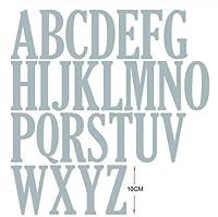 金属切削10cmの/ 4インチ文字数字を設定し2020工芸ステンシルのためにDIYスクラップブッキング紙/フォトカードエンボスダイをダイ (色 : 26pcs letters)