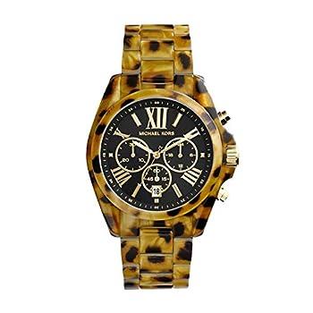 Cheetah Acetate Michael Kors kvinder Bradshaw ur