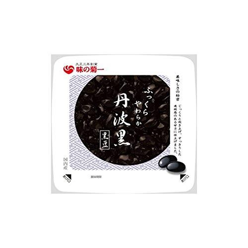 菊池食品工業 国内産丹波黒黒豆 特大粒130g×6個
