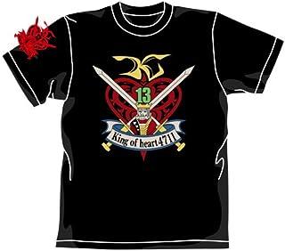 ガンダム キングオブハートTシャツ ブラック サイズ:S