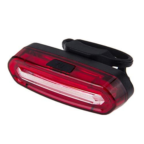 Tuzi Qiuge LED Bicicleta Luz Trasera Desmontable Recargable del USB del Color Dual De Bicicletas Luz Trasera (Blanco Y Rojo) QiuGe (Color : Color2)