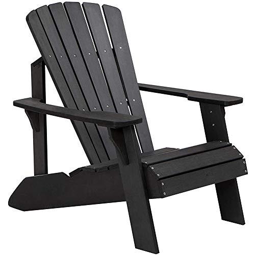 ZDYLM-Y Chaise Adirondack, Chaise inclinable de Patio Moderne, résistante aux intempéries pour Les Meubles de Jardin, de Jardin et de pelouse