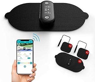 1byone Wireless TENS Unit Muscle Stimulator Bluetooth, Massager Machine EMS Unit Electronic Pulse Muscle, EMS & TENS Mode...