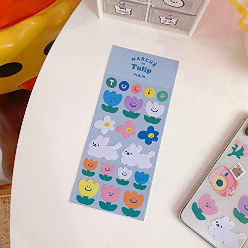 Korean Cartoon Cute Fruit Bear Stickers Sealing Post It Diy Hand Account Mobile Phone Water Cup Decorative Sticker Stationery