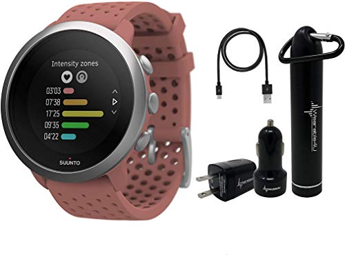 Best Review Of Suunto 3 Fitness Multisport Watch with Heart Rate Monitor and Wearable4U Power Pack B...