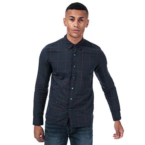 Camisa Levis Pacific Check Azul Hombre