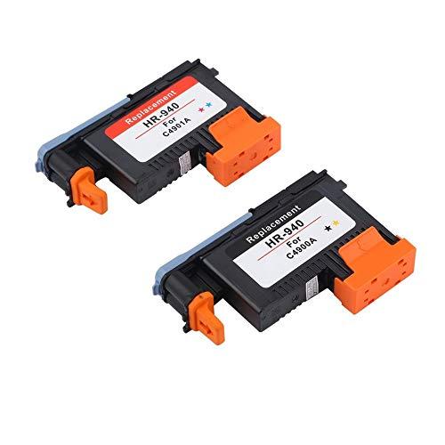 Reparar el cabezal de impresión Cabezales de impresión compatible para HP 940 C4900A Cabezal de impresión FIT PARA HP940 PRO 8000 A809A 8500A A910A A910G A910N A809N A811A 8500 ( Color : 1SET )