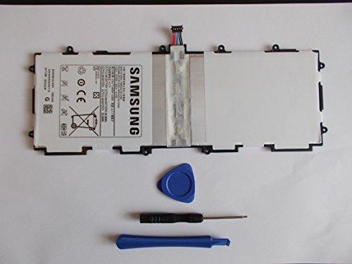 Batteria originale per Samsung Galaxy Tab 2 10.1, Galaxy Note 10.1, Galaxy Tab 10.1, GT-P5110, GT-P7510, GT-P5100, 25,4 cm SP3676B1A (1S2P) batteria, 7000 mAh + KIT ATTREZZI