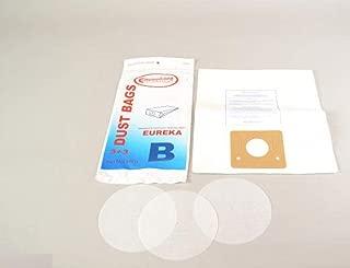 Eureka Canister Vacuum Cleaner Type B Paper Bags 3 Pk Generic Part # 106SW