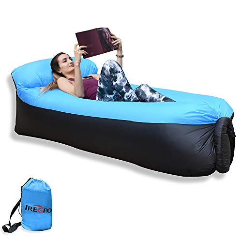 IREGRO aufblasbares Sofa New Version tragbarer Sitzsack wasserdichtes Aufblasbare Couch air Lounger Outdoor Sofa für Camping(alt)