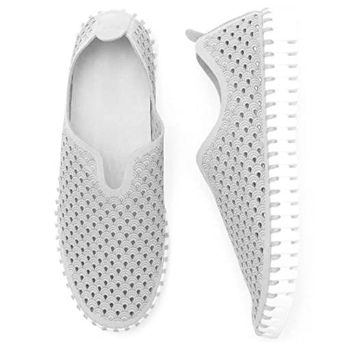 #N/D De las mujeres creativas buen diseño desnudo zapatos casuales de malla fina mano de obra para verano primavera otoño