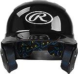 Rawlings Mach Alpha Baseball Batting Helmet, Black, X-Large