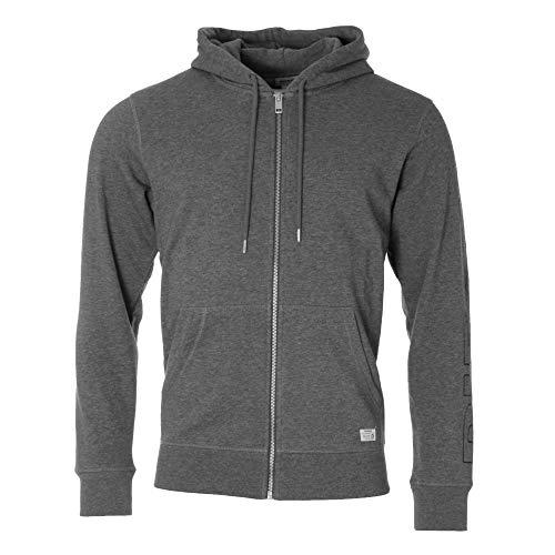 Diesel Herren UMLT-Brandon-Z Sweat-Shirt Pyjama-Oberteil (Top), Dunkelgrau gemischt, Klein