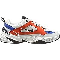 Nike M2K Tekno, Zapatillas de Running para Asfalto para Hombre, Multicolor (Summit White/Black/Team Orange 100), 45 EU