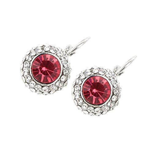 #NA Pendientes Colgantes de Cristal con Diamantes de imitación a la Moda para Mujer