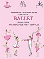 Coloring Book for 7+ Year Olds (Ballet)