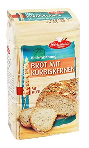 Bielmeier - Küchenmeister Brotbackmischung Kürbiskernbrot 15er Pack (15 x 500 g)