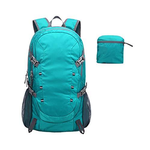 Mochila impermeável para caminhada, acampamento, viagem, acampamento, viagem, atividades ao ar livre da Besportble, 40 l