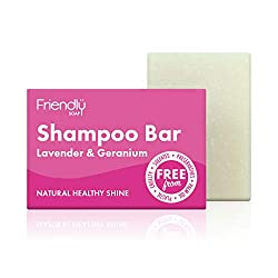 friendly soap natürliche Shampoo Seife Lavendel Geranie