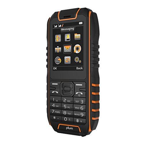 Rugged Cell Phone Unlocked GSM Waterproof Shockproof Powerful Battery Flashlight Military Grade IP68...