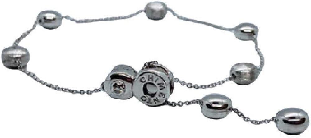 Chimento,bracciale unisex in oro 18 kt(5,1) con diamante 0,03 ct 1B01041ZB5215