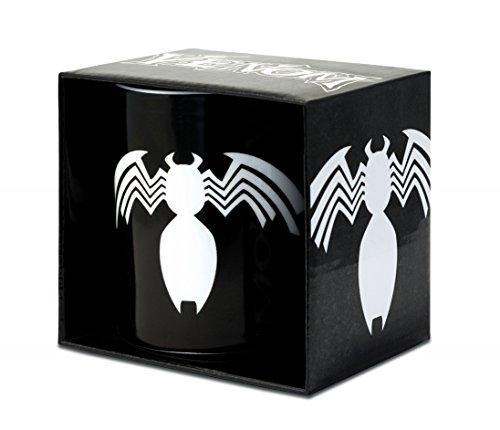 Logoshirt Marvel Comics - Venom Porzellan Tasse - Kaffeebecher - schwarz - Lizenziertes Originaldesign