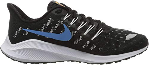Nike Air Zoom Vomero 14, Zapatillas para Carreras de montaña para Hombre, Black University Blue White Psychic Blue, 40 EU