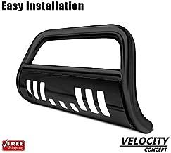 Velocity Racing Black Bull Bar Brush Push Bumper Grill Grille Guard for 05-17 Frontier/15 Xterra