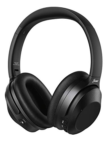 Hybrid active noise-canceling headphones