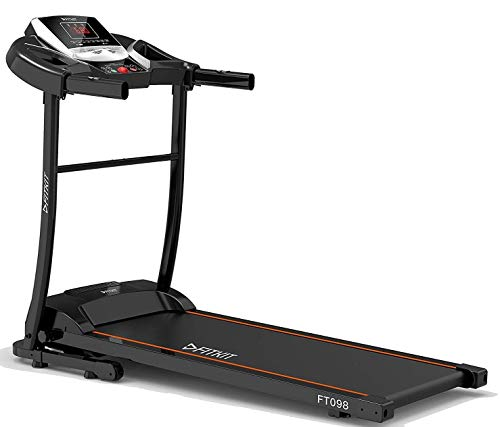 Fitkit FT098 1.5HP (2HP Peak) Motorized Treadmill With Free Installation and Free Diet & Fitness Plan