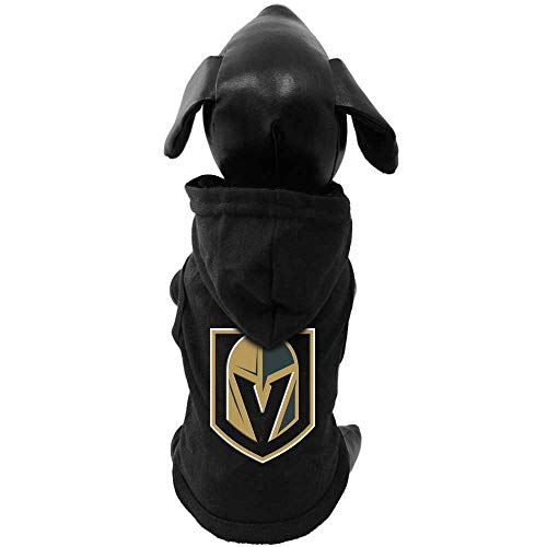 All Star Dogs NHL Vegas Golden Knights 655257718675 Sports Fan Pet T Shirts, Black, Small