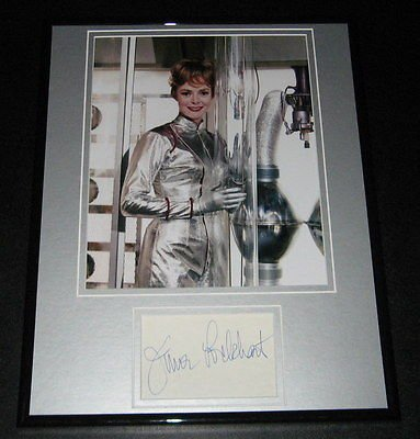 June Lockhart Signed Framed 11x14 Photo Poster Display Lost in Space