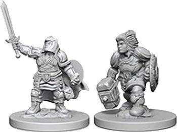 D&D Nolzurs Marvelous Unpainted Miniatures  Wave 3  Dwarf Female Paladin