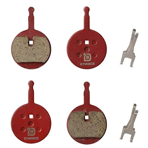 Dymoece 2 Pairs Organic Resin Bicycle Disc Brake Pads for Avid BB5 Mechanical Disc Brake