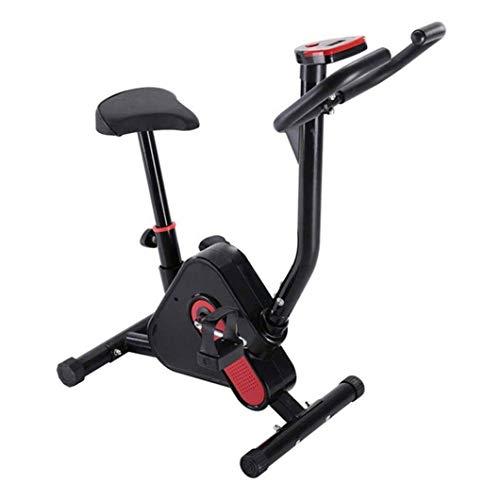 Cubierta estacionaria Ajustable Bicicleta estática, for Bienestar de aguante la Bicicleta estática for el hogar Cardio Entrenamiento con Pantalla Digital, Resistencia Ajustable