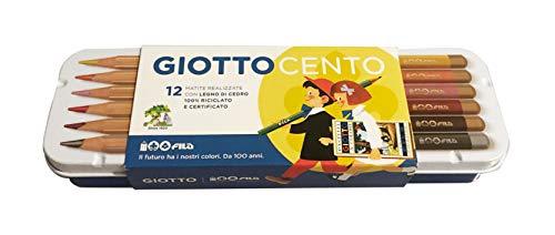 Giotto Cento Pastelli in Legno - Edizione Limitata 100 anni Fila