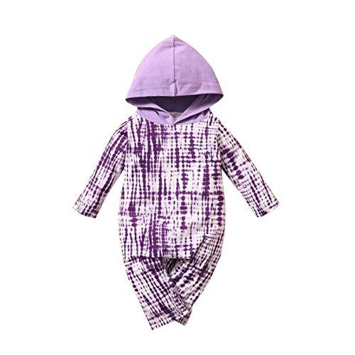 Niño recién Nacido Unisex Color sólido Color sólido Manga Larga Mono Traje de una Pieza Mono Otoño Invierno