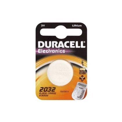 2 X 5 x Duracell 2032 CR2032 DL2032 3V Lithium Knopfzelle Batterien