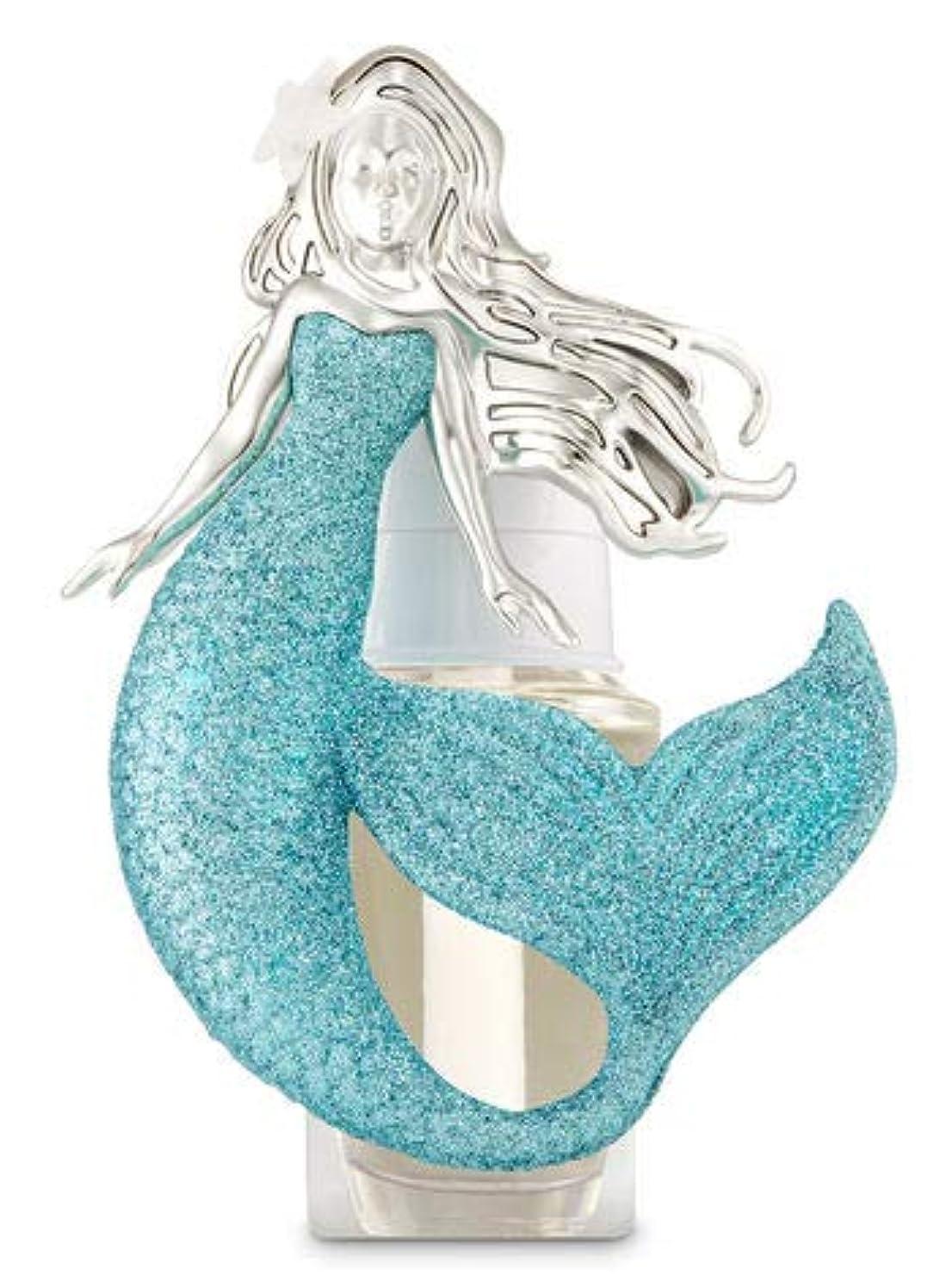 コンソール専ら与える【Bath&Body Works/バス&ボディワークス】 ルームフレグランス プラグインスターター (本体のみ) マーメイド ナイトライト Wallflowers Fragrance Plug Mermaid Night Light [並行輸入品]