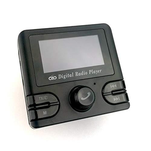 WZhen Adaptador De Radio Digital del Receptor Dab del Coche con Streaming De Música Bluetooth