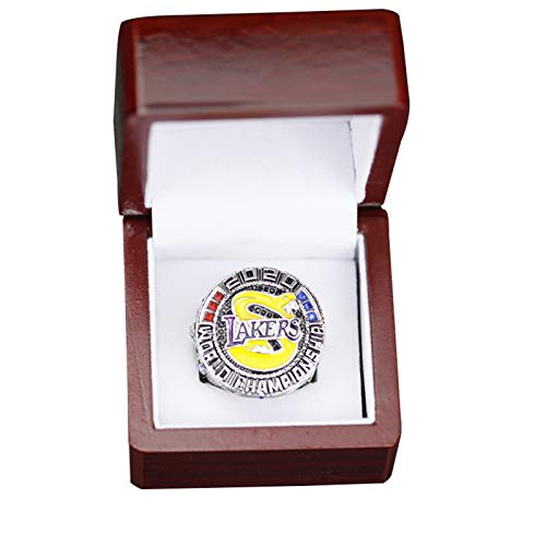 WOCTP Campeón Anillos Lakers Baloncesto 2020 Super Bowl Replica Ring Touvenir Ring Royaly Jewelry 12#