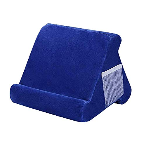 Tablet Cushion Stand Multi-Angle Soft Lap Stand Sofa Reading Holder for Tablets Books Magazines, Book Rest Reading Support Cushion for Bed, Desk, Car, Sofa, Lap, Floor, Couch