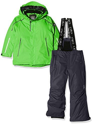 CMP Jungen Skiset Jacke+Hosen Set, Green, 176