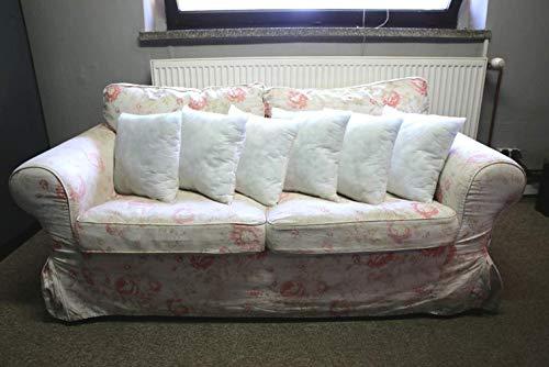 6er - SET Füllkissen, Kissen, Kissen für das Sofa - Fleece / POLYESTER, alle Größen (45x45 cm)