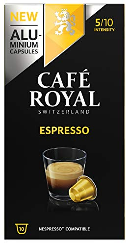 Café Royal Espresso 100 Capsules en Aluminium...
