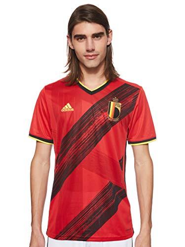 adidas 2020-2021 Belgium Home Football Soccer T-Shirt Jersey
