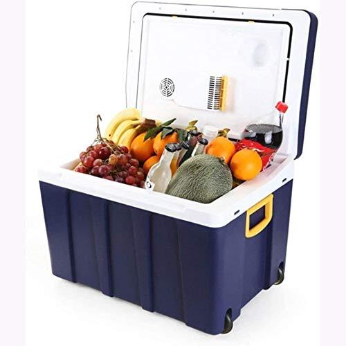 Rindasr 50 l grote capaciteit stroomkoelkast, 12 V-240 V koeling en warmte-isolatie tafelkoelkast, buitenhuishouden mini-koelkast