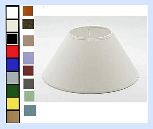 Paralume Moderno Forma Cinese in Tessuto e PVC - Produzione Propria - Made in Italy (cm 60)