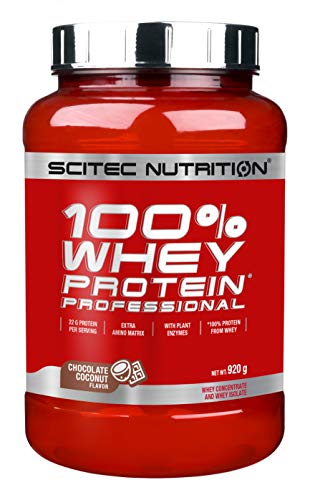 100% whey Protein Professional - 2 lbs - Chocolate - Coconut - Scitec Nutrition