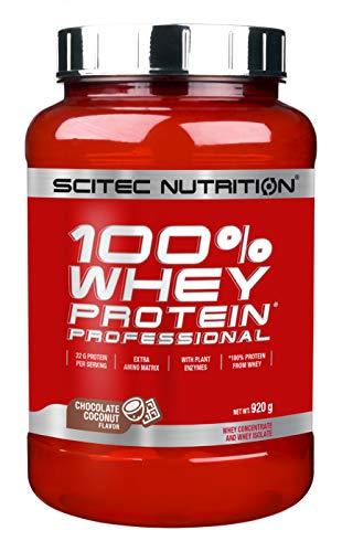 Scitec Nutrition Protein 100% Whey Protein Professional, Schokolade-Kokosnuss, 920g